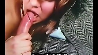 She Gives Head Car Cumpilation Vintage Famous Teen Sucking Dick Cum Swallow Blowjob Car Compilation
