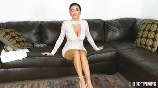 Stupefying sex session with formidable brunette Veronica Avluv