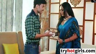 Shilpa Bhabhi - Hot Ko Aakela Dekh Mahol Garam Karke Choda