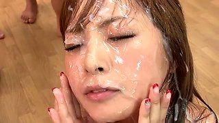 Hottest Japanese model in Horny Cumshot, HD JAV clip