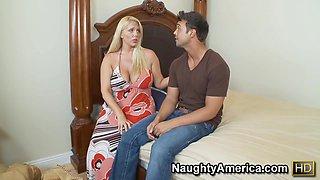 Blonde Housewife Hot Milf Porn Video