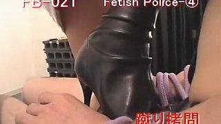 Hot Jap chicks dominate sissy guys