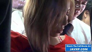 Hot Asian MILF On The Public Bus, Japanese JAV