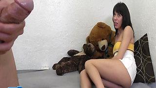CFNM Babysitter Dick-Flashing Upskirt Humiliation