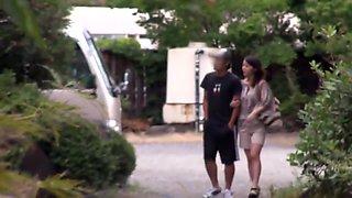 Kurumi ohashi  bathhouse cuckold onsen cock flash horny wife