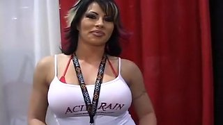 Shameless Whores At Latin Adult Expo