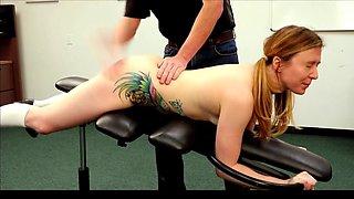 Sadie is spanked by the deanedit