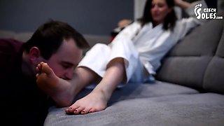 Sister Karate Foot Domination