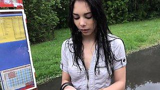 Beautiful Czech Teen Cheated her BF for Cash