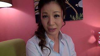Horny Japanese chick in Incredible Massage, Handjob JAV scene
