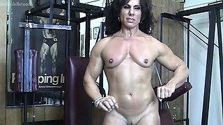 Annie Rivieccio Nude in the Gym