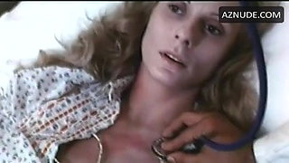 A. Borel in 1976 movie examined by a doctor