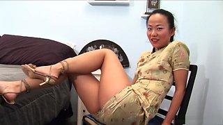 Incredible pornstar Niya Yu in exotic asian, brazilian porn video