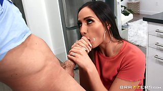 Busty woman lands entire cock in merciless XXX cam porn