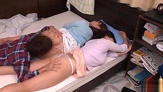 HUNTA-226 - Skirt Sleeping Form Of Mother-in-law mpjavnet 2-3