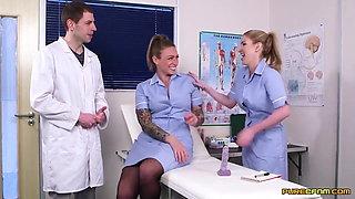 Nurses Georgie Lyall & Ava Austen Make A Doctor Cum