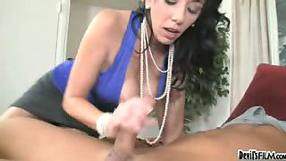 sexy mom shows her tight ass daughter how to suck mean cock!