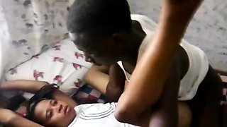 Real African Couple Homemade Sex Tape