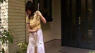 Crazed BBC Copulates Japanese Mama and Daughter (Censored)