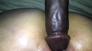 My Wife's clit swells while enjoying BBC