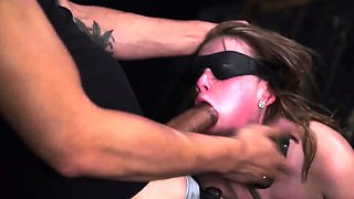 Gangbang rough big tits bondage Lizzie Bell went out for