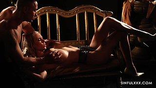 Tantalizing erotic video starring hot milf Florane Russell