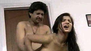 Indian Bhabhi Hot Bedroom Rough Fucking By Husband
