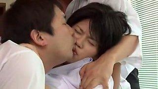 Best Japanese chick Megu Fujiura in Amazing Cougar, Big Tits JAV scene
