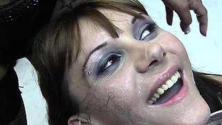 Michelle swallows 71 huge mouthful cumshots