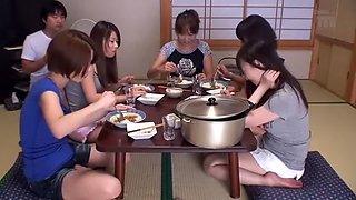 Exotic Japanese chick Risa Mizuki, Imai Natsumi, Kanari Tsubaki in Crazy MILFs, Compilation JAV video