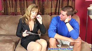 Jodi West Helping my son