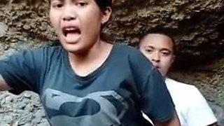 Brutal Indonesian sex