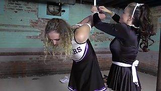 Cheerleader bondage 49