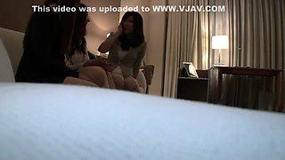 Hottest Japanese whore in Crazy Fetish, Cougar JAV scene