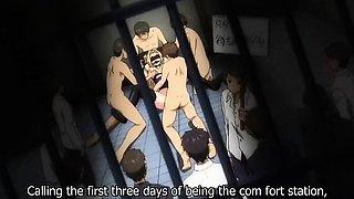 Incredible drama anime movie with uncensored bondage,