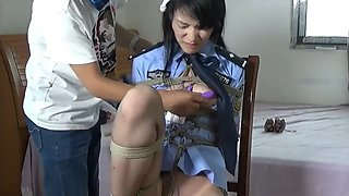 Amazing adult scene Hogtied will enslaves your mind