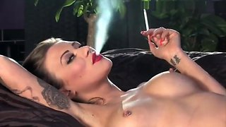 Becky Holt nude smoking