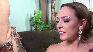 BBC Slut Kagney Linn Karter Humiliates Cuckold