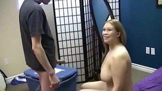 friend's Big tits sister