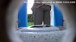 Dixi Bio Toilet Simple Dry, Older Spy Mix, Hidden Camera