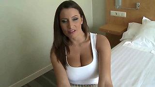 sexy MILF with huge BOOBS homemade sextape
