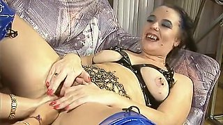 Lesbian MILFs having some fisting fun - DBM Video