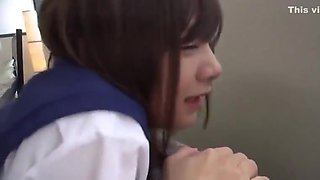 Young Japanese Schoolgirl Teen With Tiny Ass Fucked